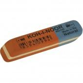 """Ластик каучук """"Koh-I-Noor"""", арт.6521/60, комбинир. сине-красный, 50х18х7, ст.60"""