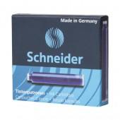 Чернильные патроны Schneider, 6штуп.., синие, арт.S660/3, ст.20