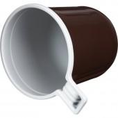 Чашка кофейная одноразовая (коричневая) 0,20л, 50шт/уп, ст.1