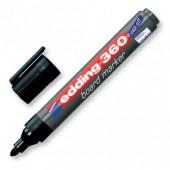 Маркер для письма на доске Edding 360, черный, 2,2мм, круглый наконечник,