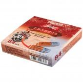 """Ластик каучук """"Koh-I-Noor"""", арт.6521/80, комбинир. сине-красный, 40х15х7, ст.84"""
