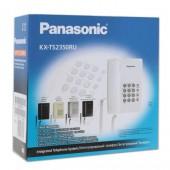 Телефон Panasonic KX-TS2350RUW, ст.1