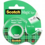 "Скотч ""3M Scotch Magic 8-1975D"", 19х7,5, матовый, на диспенсере, арт.1975, ст.1"