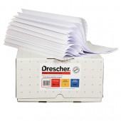 Бумага для принтера в стопе (ЛПУ) 240 белая, 3-х слойная самокопир., Drescher-Emerson, ст.1
