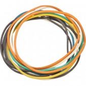 Резинка для денег 500 гр, диаметр 60 мм, толщина 1 мм, , Attache, цветные, ст.1