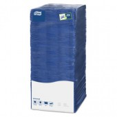 Салфетки Lotus Big Pack, 25*25, 500л., синие, ст.6