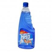 """Жидкость для мытья стекол """"Help"""", без курка, 500мл, ст.1"""