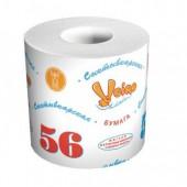 """Бумага туалетная """"Сыктывкар 56м"""" 1-слойная, белая, ст.72"""