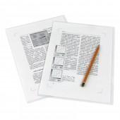 Папка-уголок  , бесцветная, арт. Е310-180, ст.1