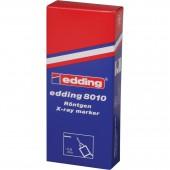 Маркер для ренгеновских пленок Edding E-8010, белый, ст.10
