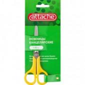 Ножницы 130 мм, Attache, пластик.ручки