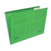 """Папка подвесная """"Bantex 3460"""", А4, картон салатовый, ст.25"""