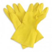 Перчатки резиновые латексные, р-р xl, повышенная износоустойчивость , ст.1