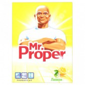 """Порошок чистящий """"Mr.Proper"""", Лимон, 400гр., ст.5/20"""