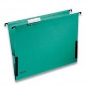 """Папка подвесная """"Leitz"""", А4, картон зеленый, ст.12"""