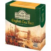 Чай черный Ahmad English Tea №1, 100пак/уп, ст.1