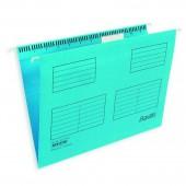 """Папка подвесная """"Bantex 3460"""", А4, картон голубой, ст.25"""