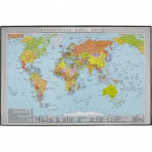 Коврик на стол  38х59см, Карта Мира, ст.1