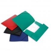 Папка на резинке Attache, арт. F315/07, А4, пластик, корешок 35 мм