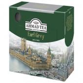 Чай черный Ahmad Tea Earl Grey, бергамот, 100пак/уп., ст.1