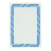 Сертификат-бумага Decadry, А4, 115г/м2, 25л/пачк., сине-голубая, ст.1