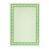 Сертификат-бумага Decadry, А4, 115г/м2, 25л/пачк, зеленая, ст.1