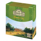 Чай зеленый Ahmad Tea Green, 100пак/уп, ст.1