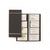 Визитница на  96 виз. иск.кожа, Durable Visifix, четырехрядная, цвет антрацит, ст.1