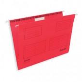 """Папка подвесная """"Bantex 3460"""", А4, картон красный, 25шт/уп ст.1"""