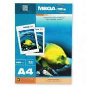 Фотобумага Mega Jet Matt, А4, 200г/м, 50л, матовая, односторонняя, ст.1