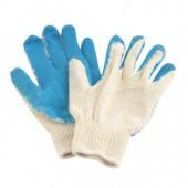 Перчатки хозяйственные, х/б, с латексной заливкой, ст.1