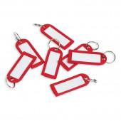 Брелоки для ключей, 100 шт./уп., красная,ст.1