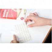Клейкая масса Kores Gum Fix 6 полосок по 14 штук, ст.1