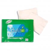 """Салфетки влажные """"Salfeti"""", антибактериальные, 20 шт/уп, ст.72"""