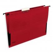 """Папка подвесная """"Leitz"""", А4, картон красный, ст.25"""