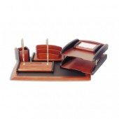 Набор настольный деревянный, красное дерево, 6предм., Good Sunrise rs6M-1A, ст.1