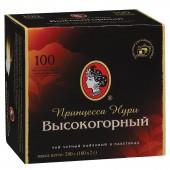 """Чай черный Орими """"Принцесса Нури"""", высокогорный 100пак/уп., с ярлычками, ст.18"""