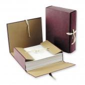 Папка архивная  8см, 4 завязки, бумвинил, ст.30