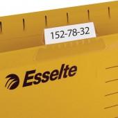 """Ярлычки """"Esselte"""", для маркировки подвесных папок Pendaflex, 25шт/уп, ст.1"""