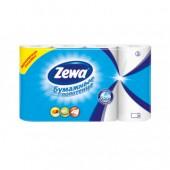"""Полотенца бумажные рулонные """"Zewa"""", 2-слойные, белые с тисн., 4рул./уп, ст.1"""