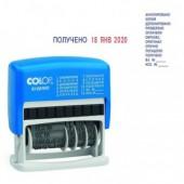Штамп датер мини с 12 бухг.терминами 120/wd, ст.1