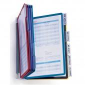 Демо-система настенная, Durable Vario 5567, 10 цв. панелей, ст.1