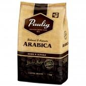 Кофе зерновой Paulig Arabica, 100% Арабика, 1кг, ст.6 ст.1