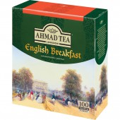 Чай черный Ahmad Tea English Breakfast, 100 пак/уп, ст.12