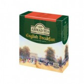Чай черный Ahmad Tea English Breakfast, 100 пак/уп, ст.12