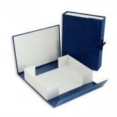 Папка-короб архивный  70мм, бумвинил, ст.50