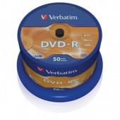 Диск DVD-R Verbatim 4,7 Gb, 16x на шпинделе 50 шт/уп., ст.1