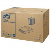 Салфетки д/держателя Tork 10903 25х30 белые 1-сл.250 л, ст.36
