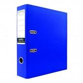 Папка-регистратор А4, Index, 80мм, Pvc, синяя, ст.24