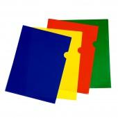 Папка-уголок Sponsor, А4, пластик, 150 мкм, жесткая, прозрачная